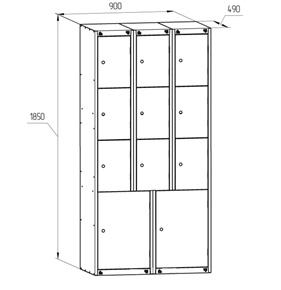 шкафы для магазинов